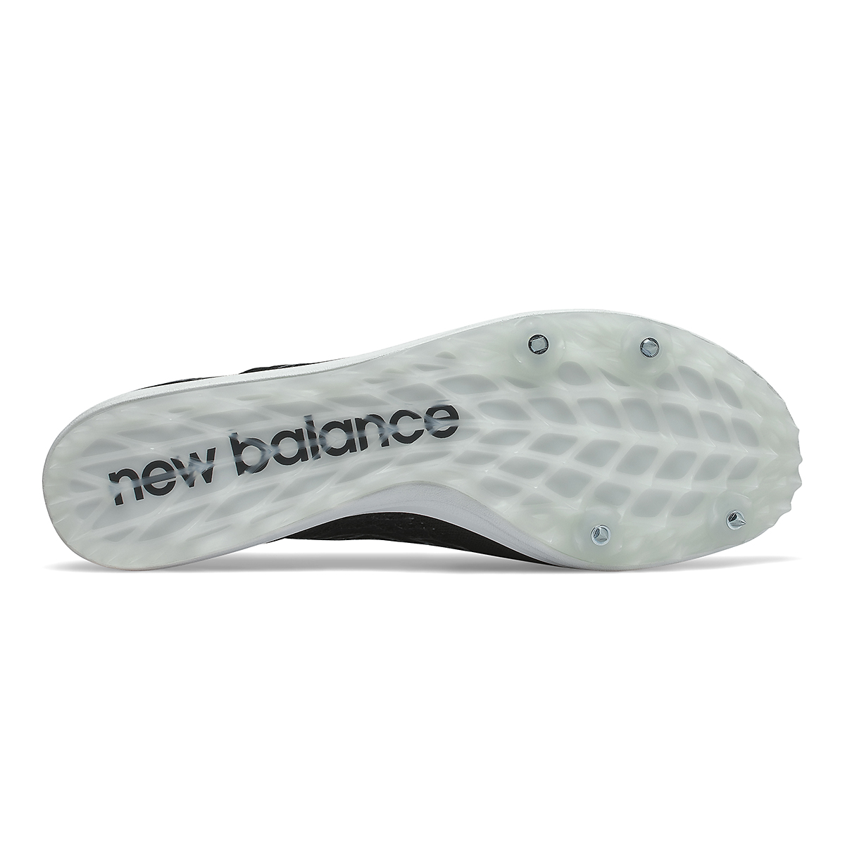 Women's New Balance LD5Kv8 Track Spikes - Color: Black/White - Size: 6 - Width: Regular, Black/White, large, image 4