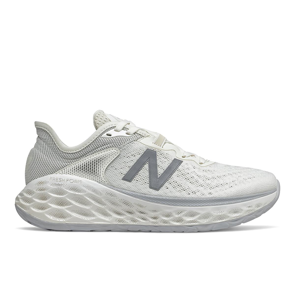 Women's New Balance Fresh Foam More V2 Running Shoe - Color: Sea Salt - Size: 5 - Width: Extra Wide, Sea Salt, large, image 1