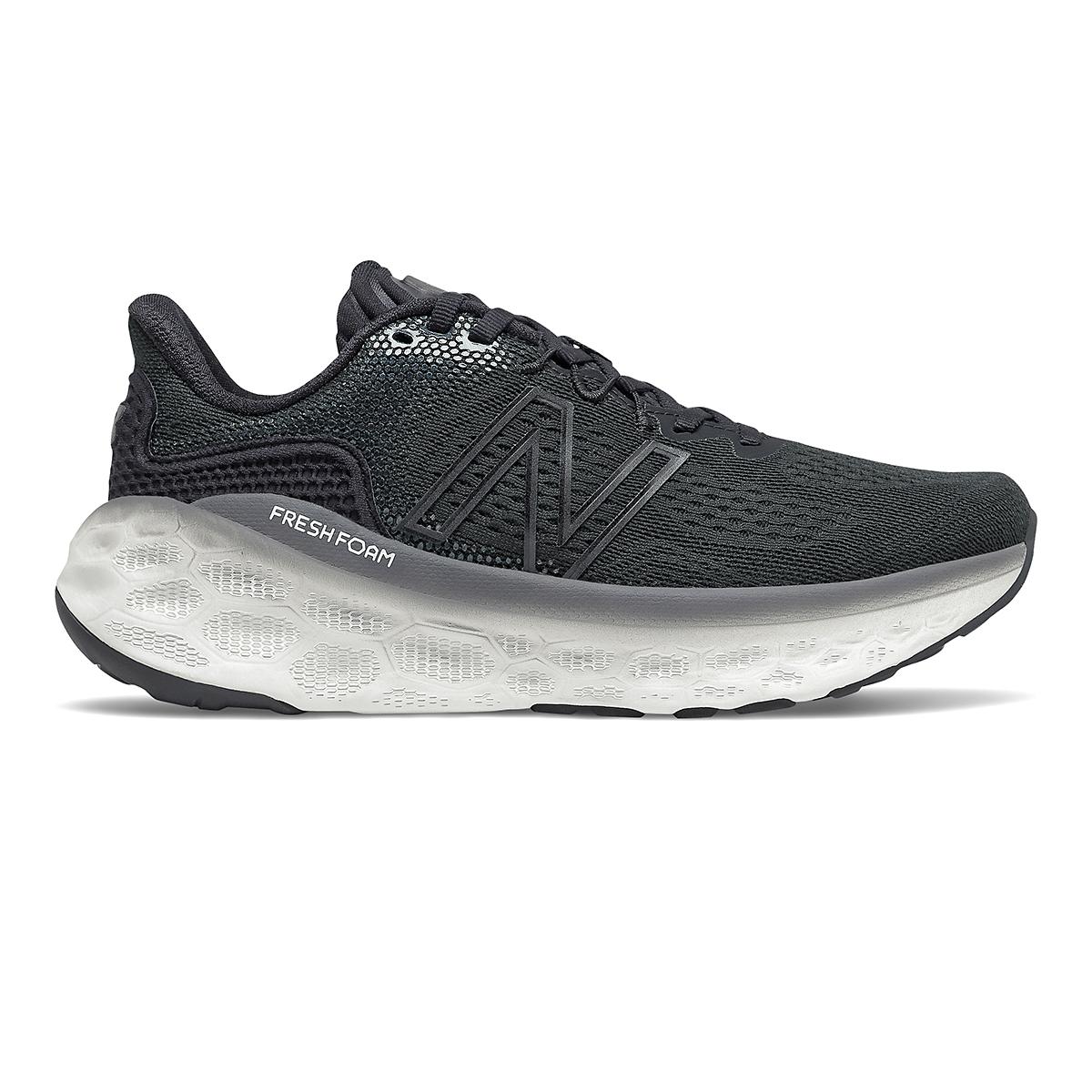 Women's New Balance Fresh Foam More V3 Running Shoe - Color: Black/Magnet - Size: 5 - Width: Extra Wide, Black/Magnet, large, image 1