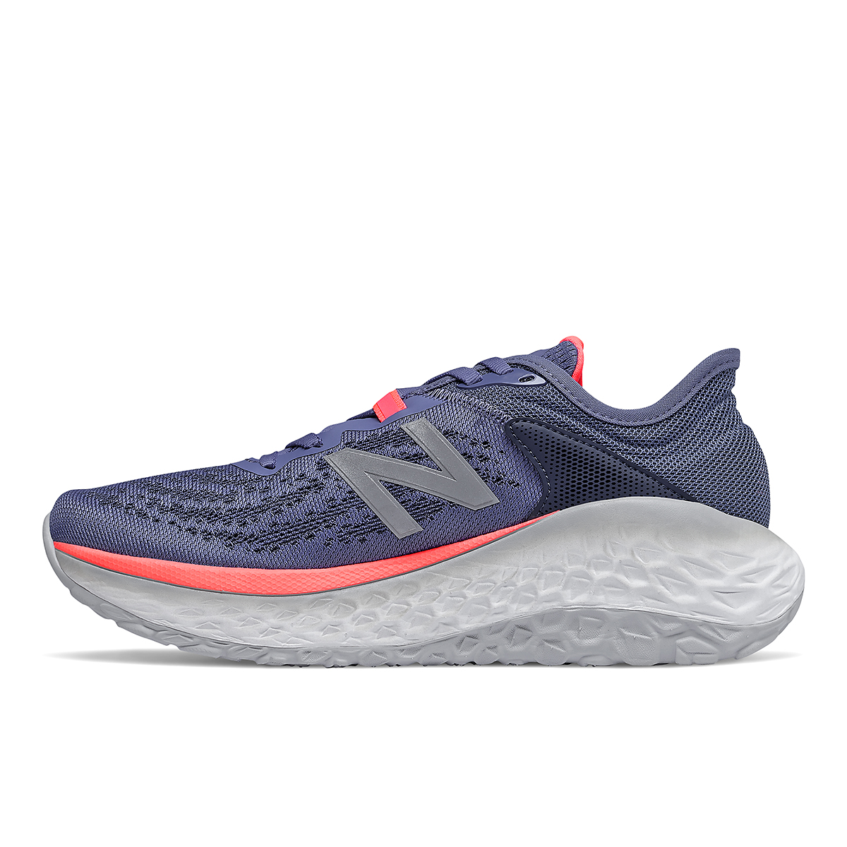 Women's New Balance Fresh Foam More V2 Running Shoe - Color: Magnetic Blue - Size: 5 - Width: Extra Wide, Magnetic Blue, large, image 2