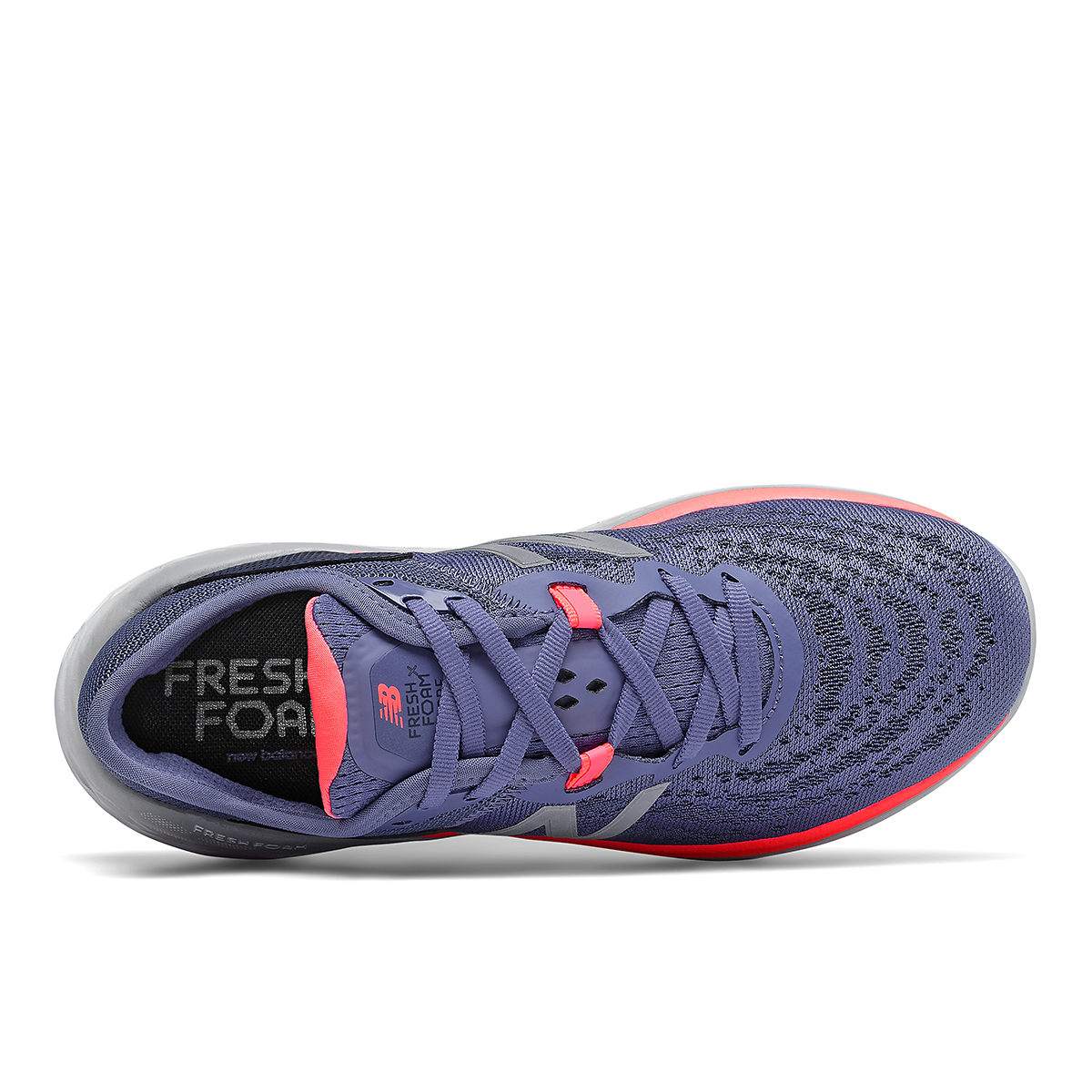Women's New Balance Fresh Foam More V2 Running Shoe - Color: Magnetic Blue - Size: 5 - Width: Extra Wide, Magnetic Blue, large, image 3