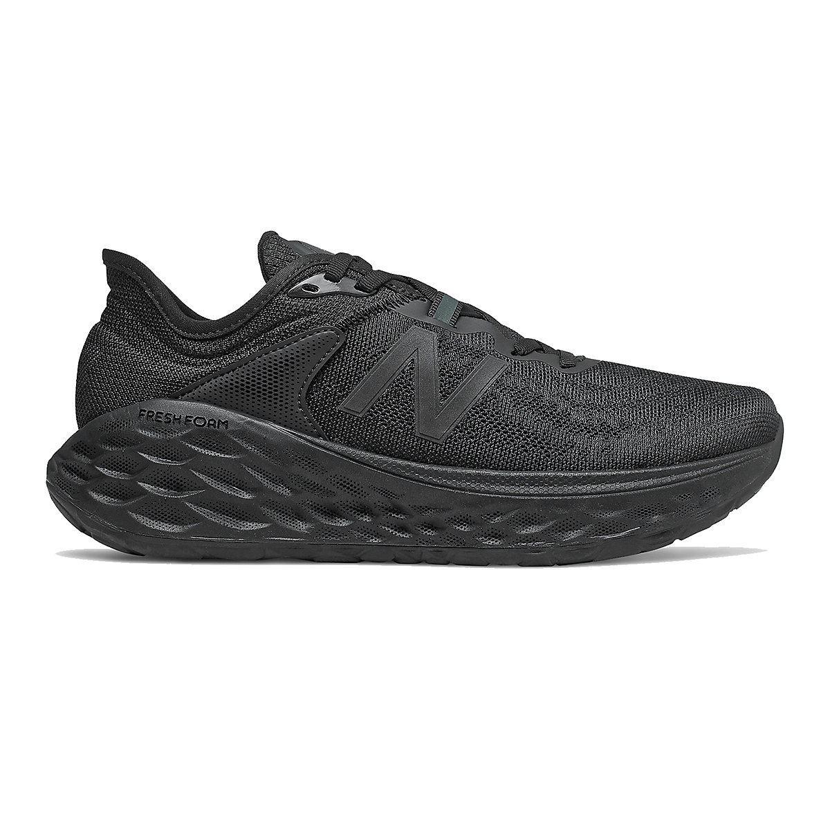 Women's New Balance Fresh Foam More V2 Running Shoe - Color: Black - Size: 6 - Width: Extra Wide, Black, large, image 1