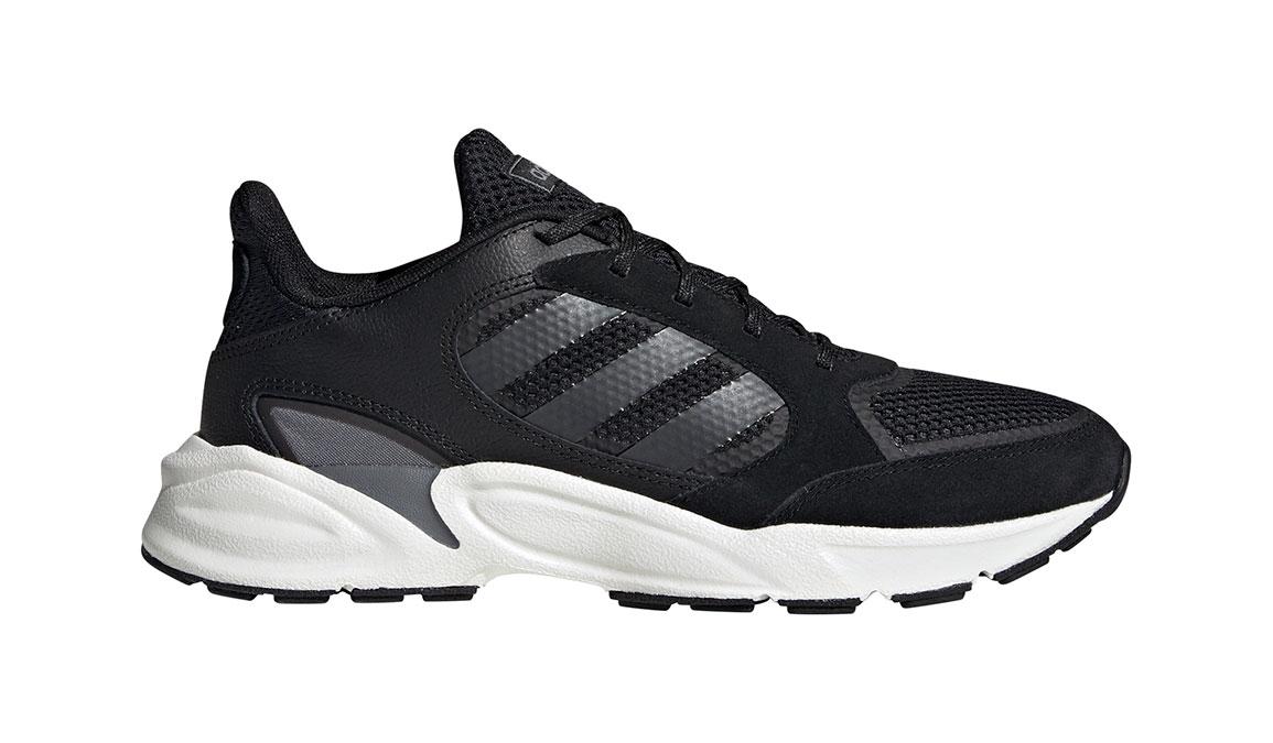 Women's Adidas 90s Valasion Running Shoe - Color: Core Black/Night Metallic (Regular Width) - Size: 10, Core Black/Night Metallic, large, image 1