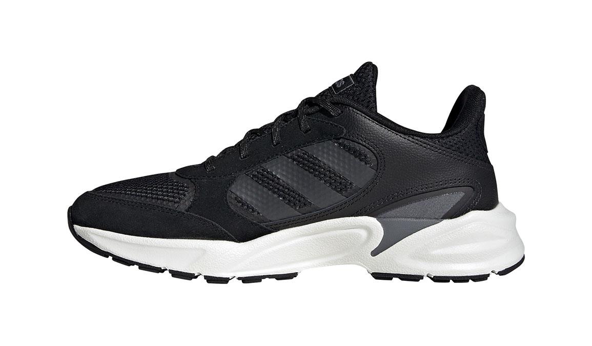 Women's Adidas 90s Valasion Running Shoe - Color: Core Black/Night Metallic (Regular Width) - Size: 10, Core Black/Night Metallic, large, image 2