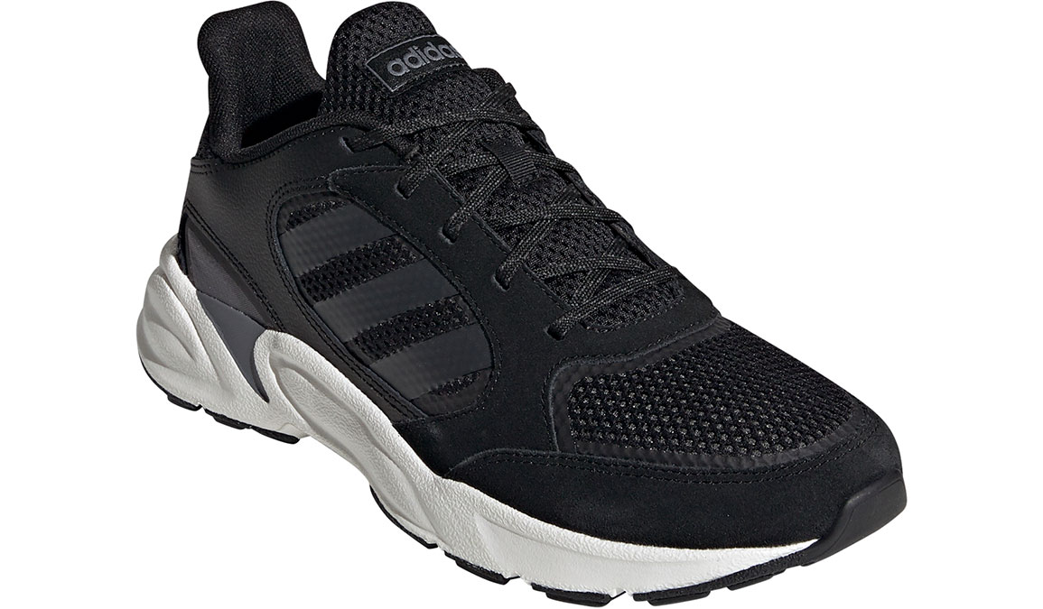 Women's Adidas 90s Valasion Running Shoe - Color: Core Black/Night Metallic (Regular Width) - Size: 10, Core Black/Night Metallic, large, image 3