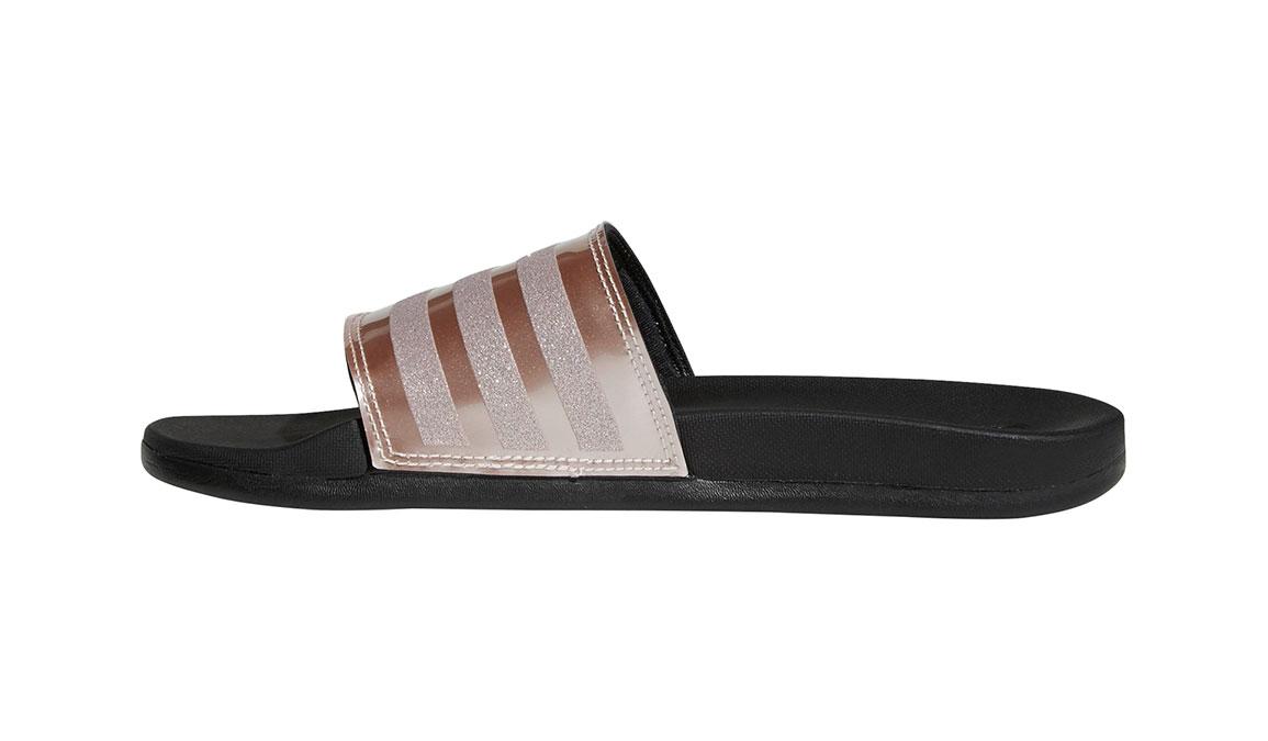 adidas adilette cloudfoam rose gold