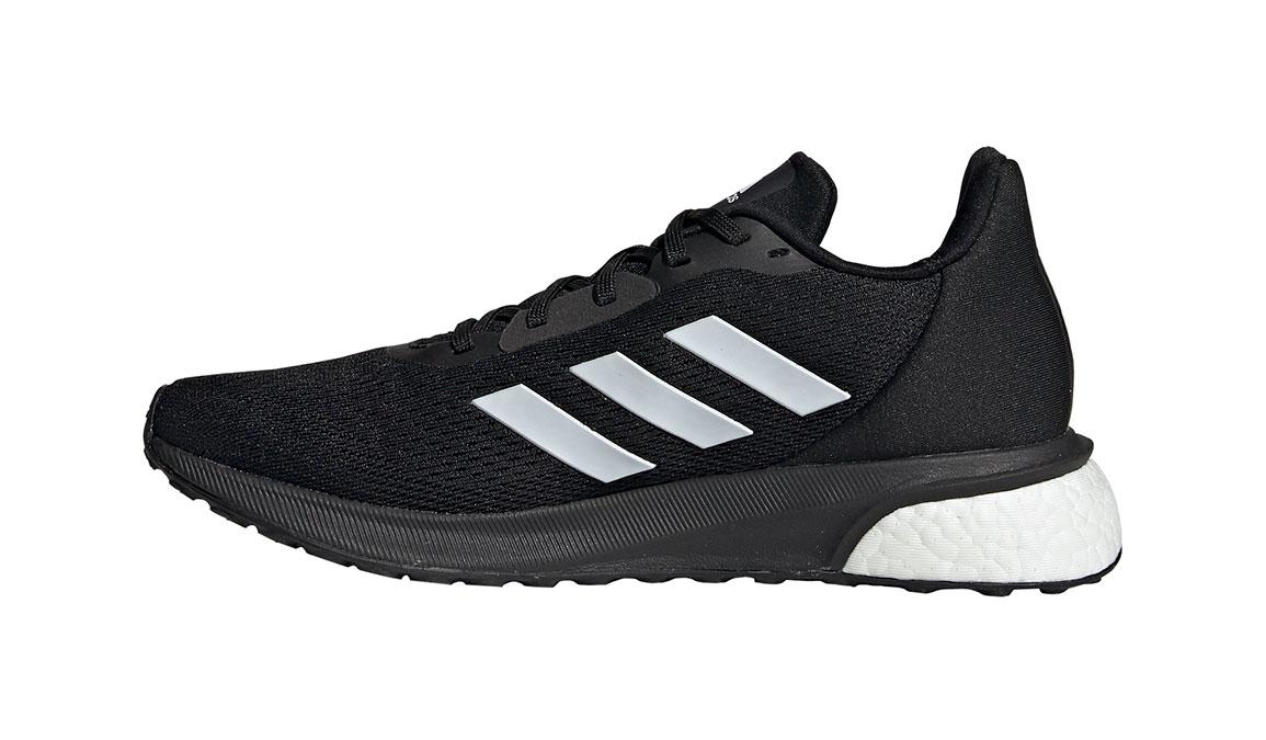 Women's Adidas Astrarun Running Shoe - Color: Core Black/Cloud White (Regular Width) - Size: 5, Core Black/Cloud White, large, image 2