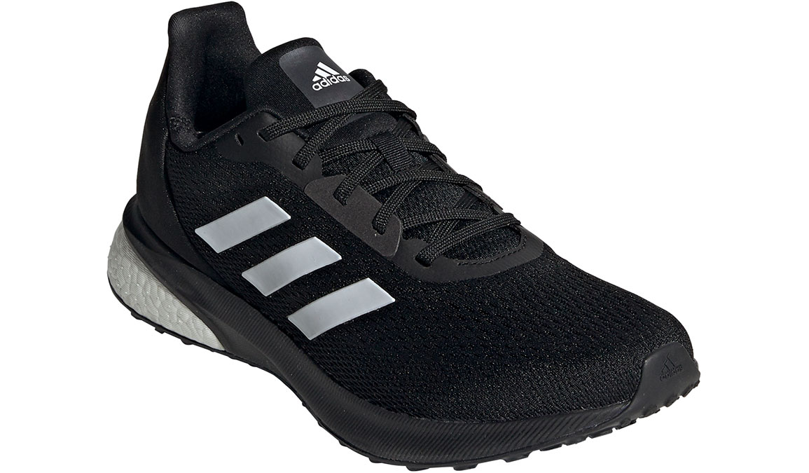 Women's Adidas Astrarun Running Shoe - Color: Core Black/Cloud White (Regular Width) - Size: 5, Core Black/Cloud White, large, image 3