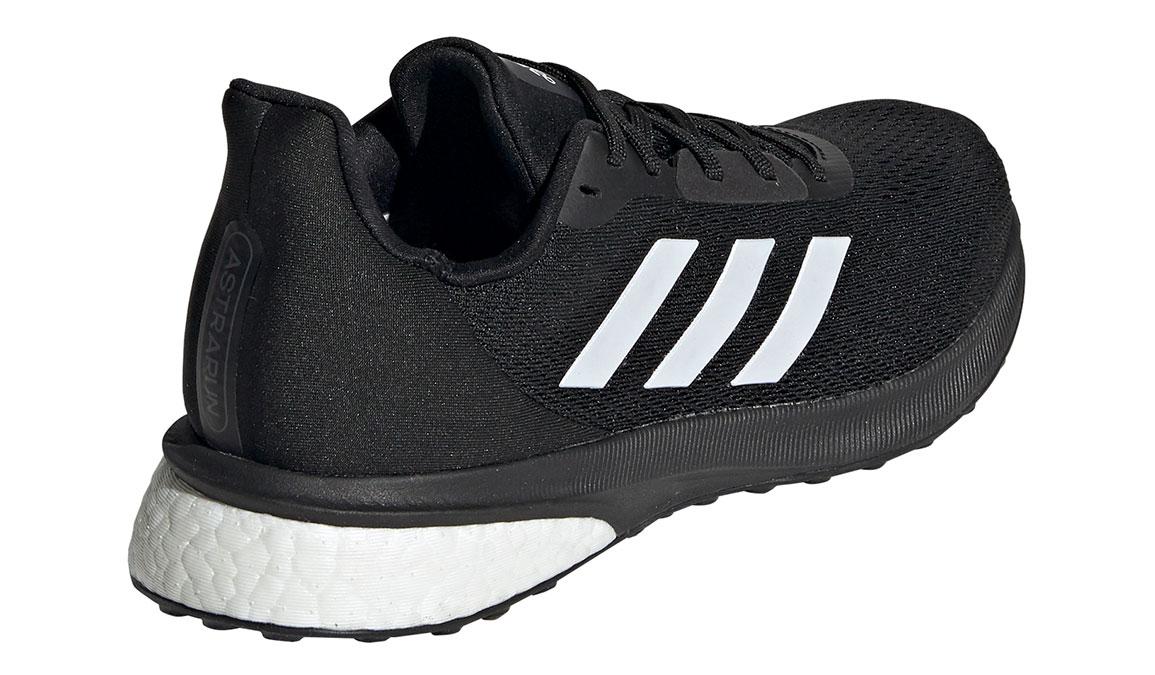 Women's Adidas Astrarun Running Shoe - Color: Core Black/Cloud White (Regular Width) - Size: 5, Core Black/Cloud White, large, image 4