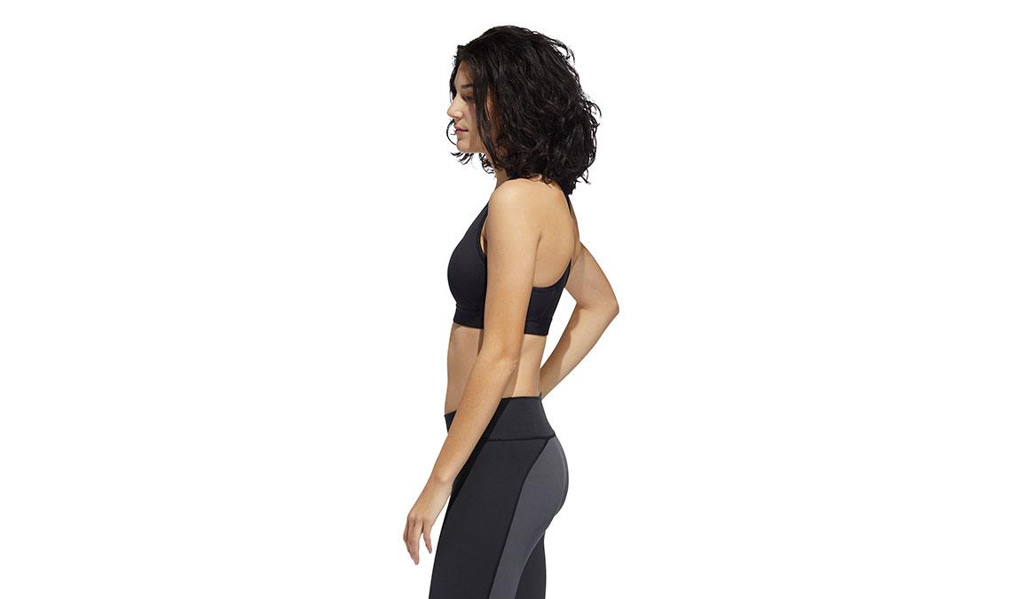 Women's Adidas Don't Rest Alphaskin Padded Bra - Color: Black Size: S, Black, large, image 3