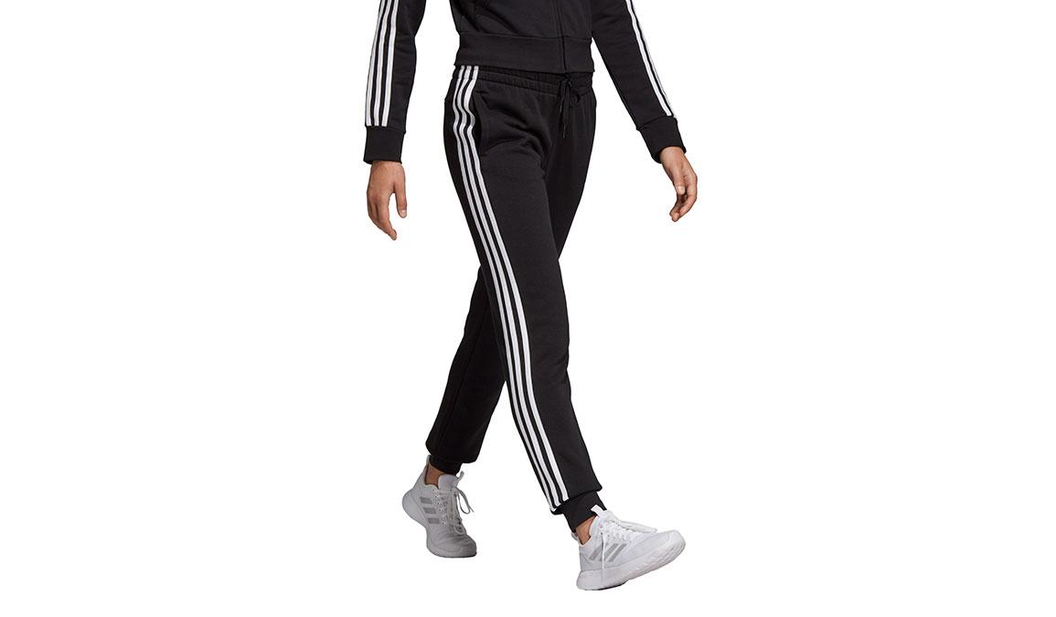Women's Adidas Essentials 3 Stripe Fleece Pants