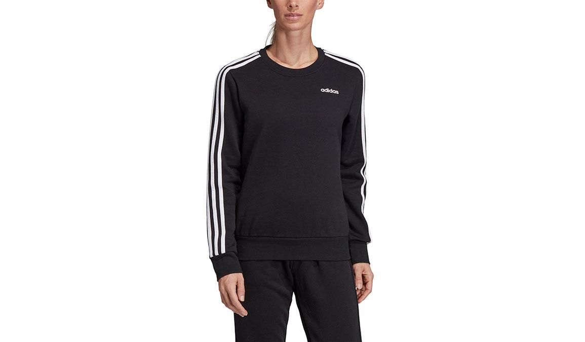 Women's Adidas Essentials 3 Stripe Sweatshirt, , large, image 1