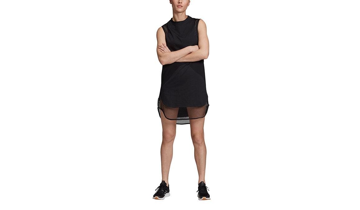 Women's Adidas Id Long Mesh Tee - Color: Black Size: XXS, Black, large, image 1
