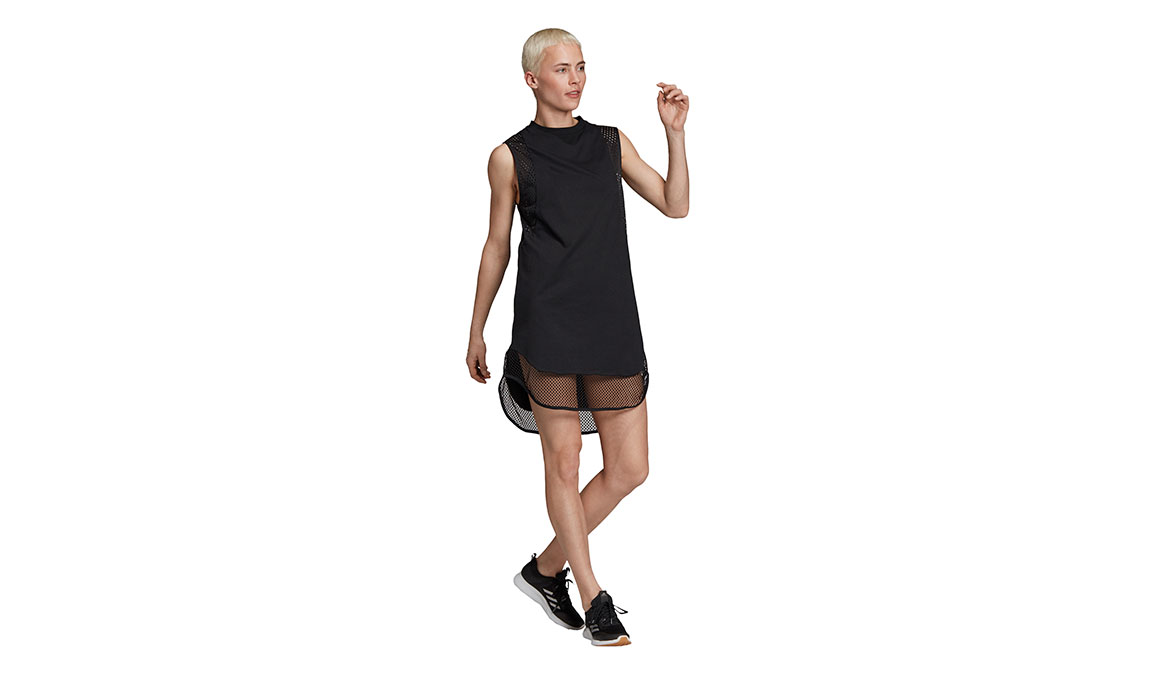 Women's Adidas Id Long Mesh Tee - Color: Black Size: XXS, Black, large, image 2