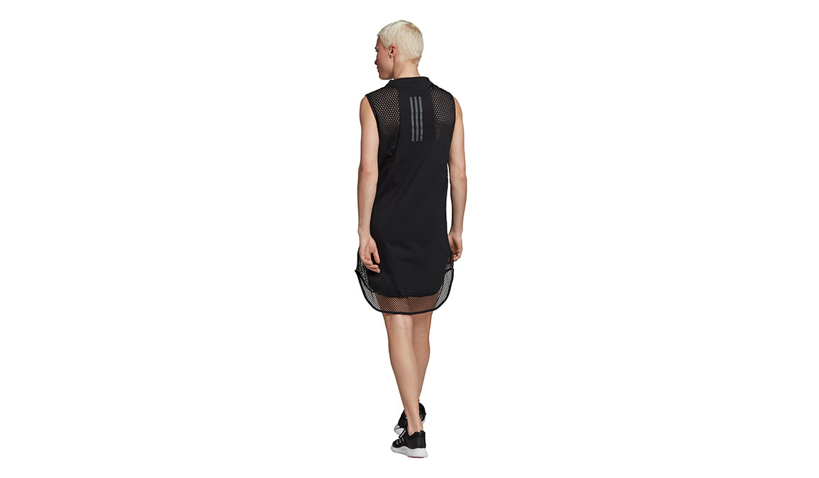 Women's Adidas Id Long Mesh Tee - Color: Black Size: XXS, Black, large, image 3