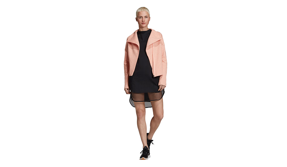 Women's Adidas Id Long Mesh Tee - Color: Black Size: XXS, Black, large, image 4