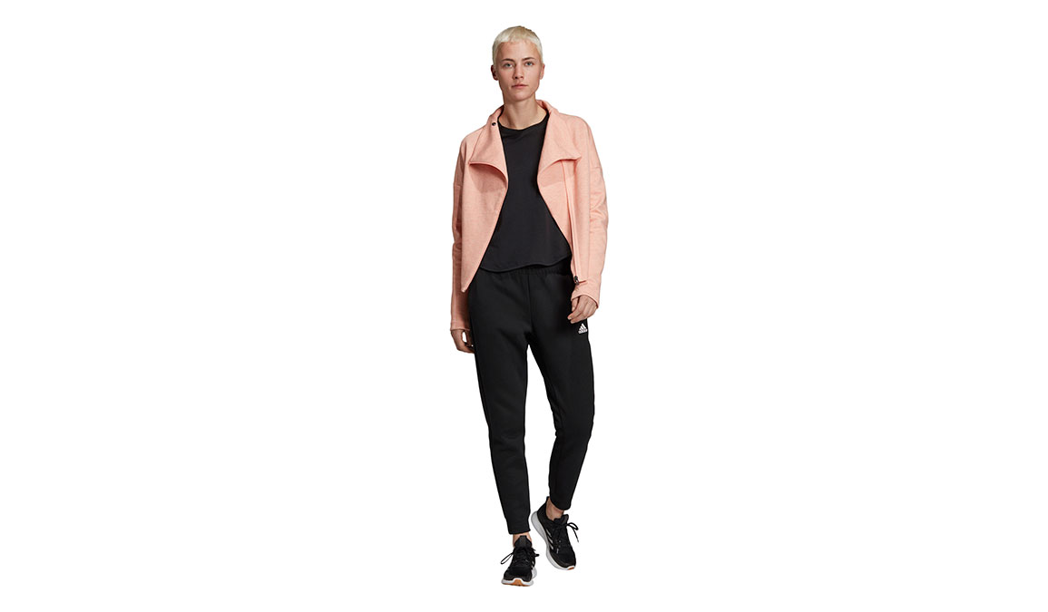 Women's Adidas ID Mesh Tee - Color: Black Size: XXS, Black, large, image 4