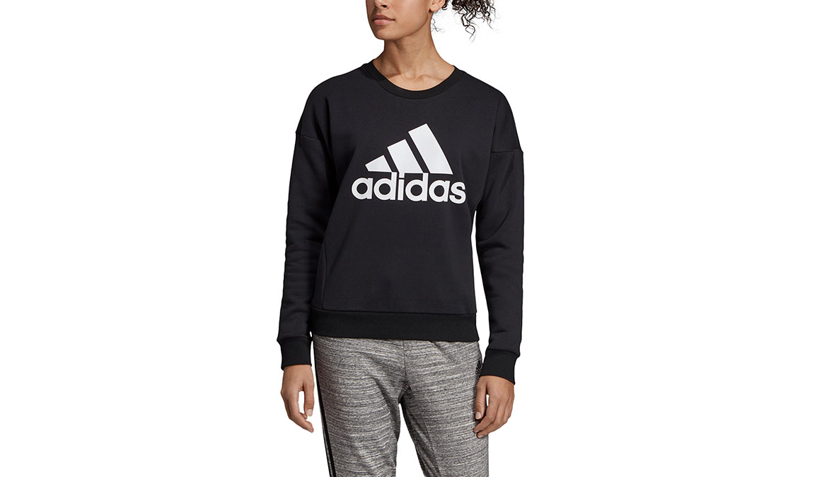 Women's Adidas Must Haves Badge Of Sport Crew, , large, image 1