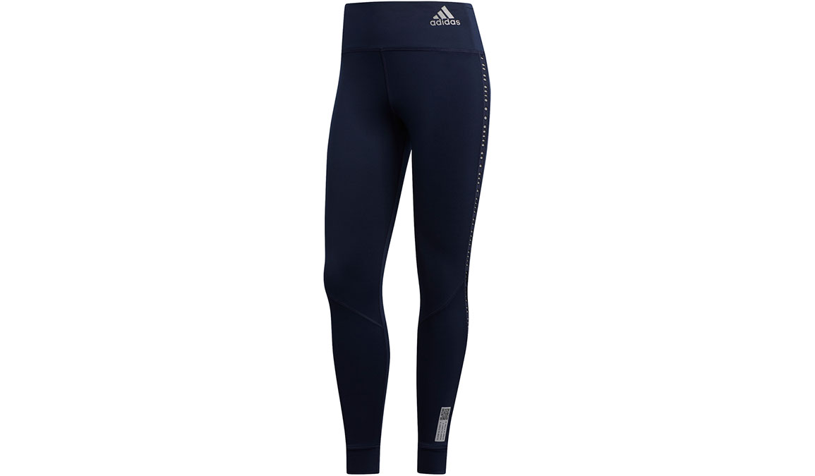 Women's Adidas Own The Run Tight - Color: Legend Ink Size: XXS, Legend Ink, large, image 2