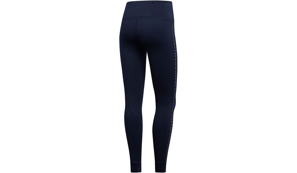 Women's Adidas Own The Run Tight - Color: Legend Ink Size: XXS, Legend Ink, large, image 3