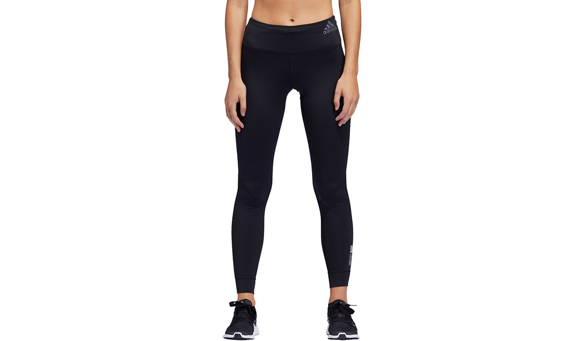 Women's Adidas Own The Run Tight Primeblue - Color: Black Size: XXS, Black, large, image 1