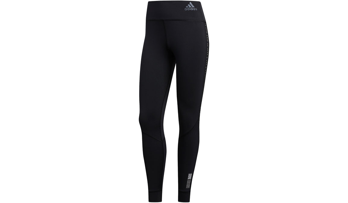 Women's Adidas Own The Run Tight Primeblue - Color: Black Size: XXS, Black, large, image 2
