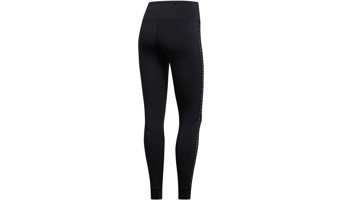 Women's Adidas Own The Run Tight Primeblue - Color: Black Size: XXS, Black, large, image 3