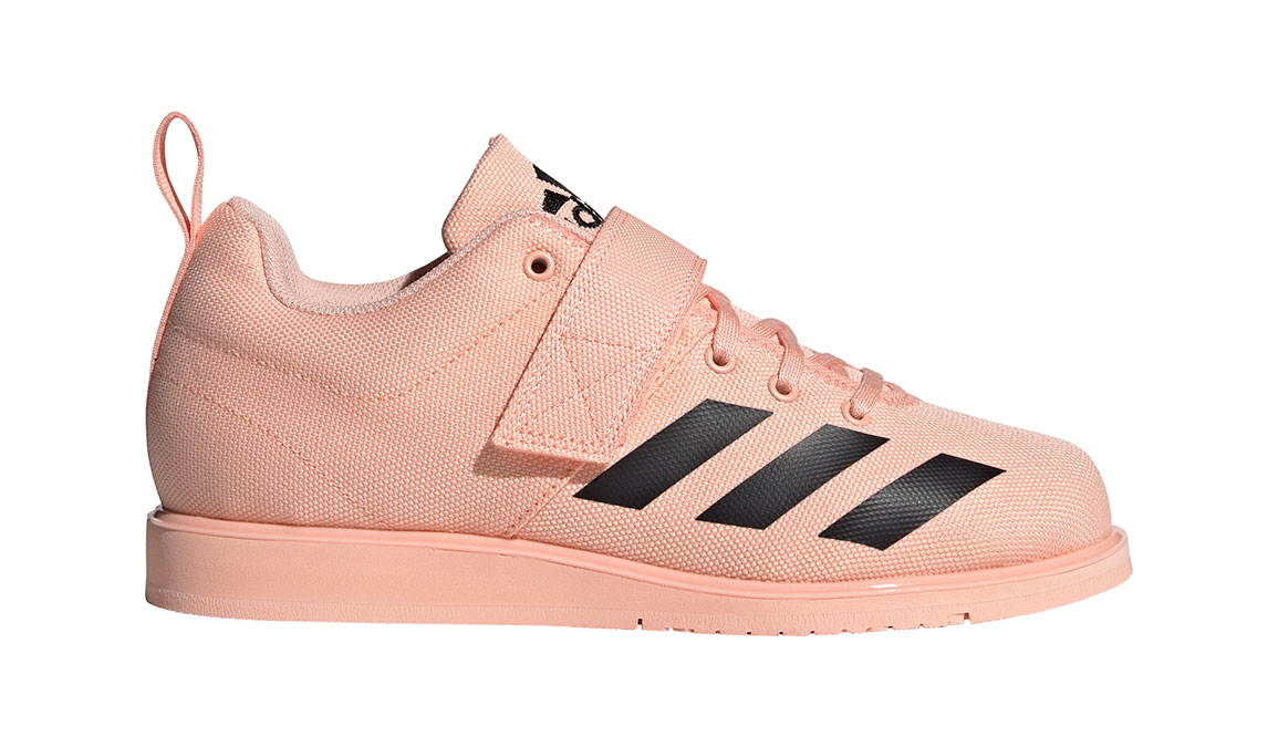 Women's Adidas Powerlift 4 Training Shoes - Color: Glow Pink/Core Black (Regular Width) - Size: 11, Glow Pink/Core Black, large, image 1