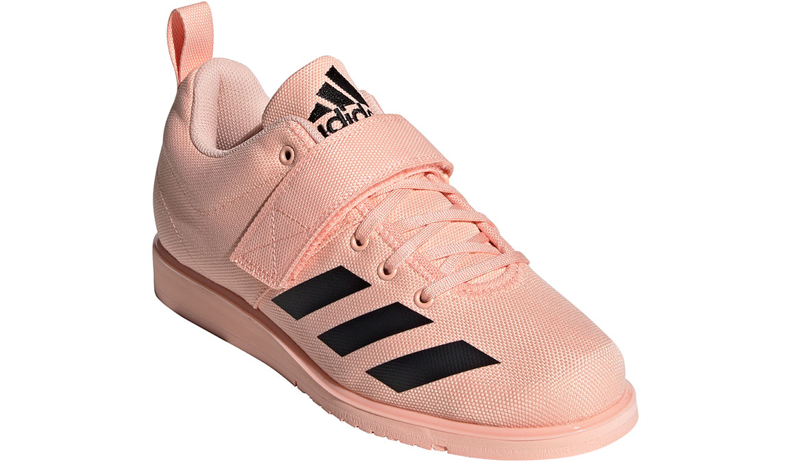 Women's Adidas Powerlift 4 Training Shoes - Color: Glow Pink/Core Black (Regular Width) - Size: 11, Glow Pink/Core Black, large, image 3