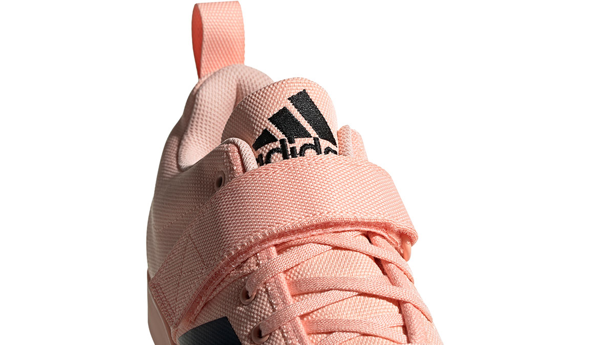 Women's Adidas Powerlift 4 Training Shoes - Color: Glow Pink/Core Black (Regular Width) - Size: 11, Glow Pink/Core Black, large, image 4