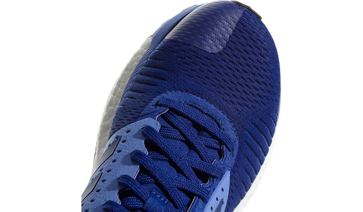 Women's Adidas SolarGlide ST Running Shoe - Color: Mystery Ink/Lilac (Regular Width) - Size: 10, Ink Blue, large, image 3