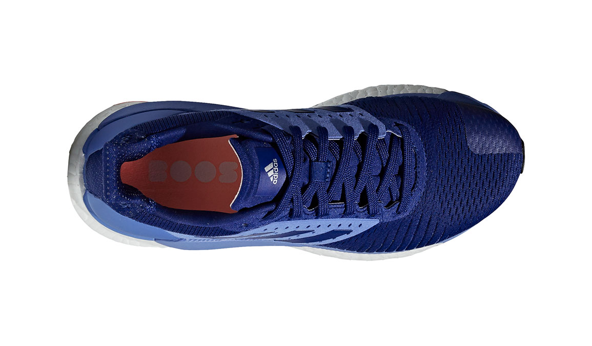 Women's Adidas SolarGlide ST Running Shoe - Color: Mystery Ink/Lilac (Regular Width) - Size: 10, Ink Blue, large, image 4