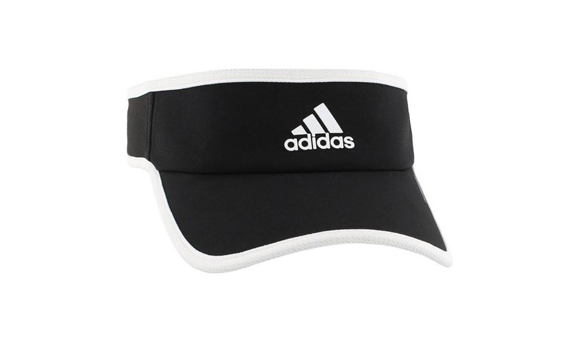 Adidas Superlite Visor - Color: Black/White Size: OS, Black/White, large, image 1
