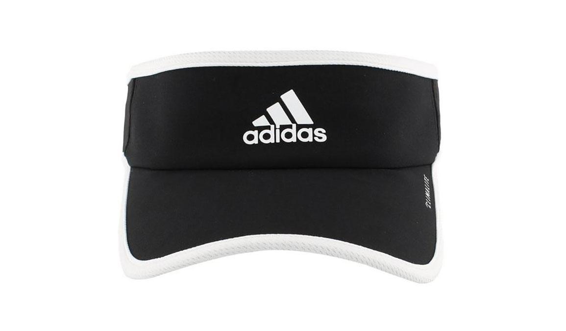 Adidas Superlite Visor - Color: Black/White Size: OS, Black/White, large, image 3