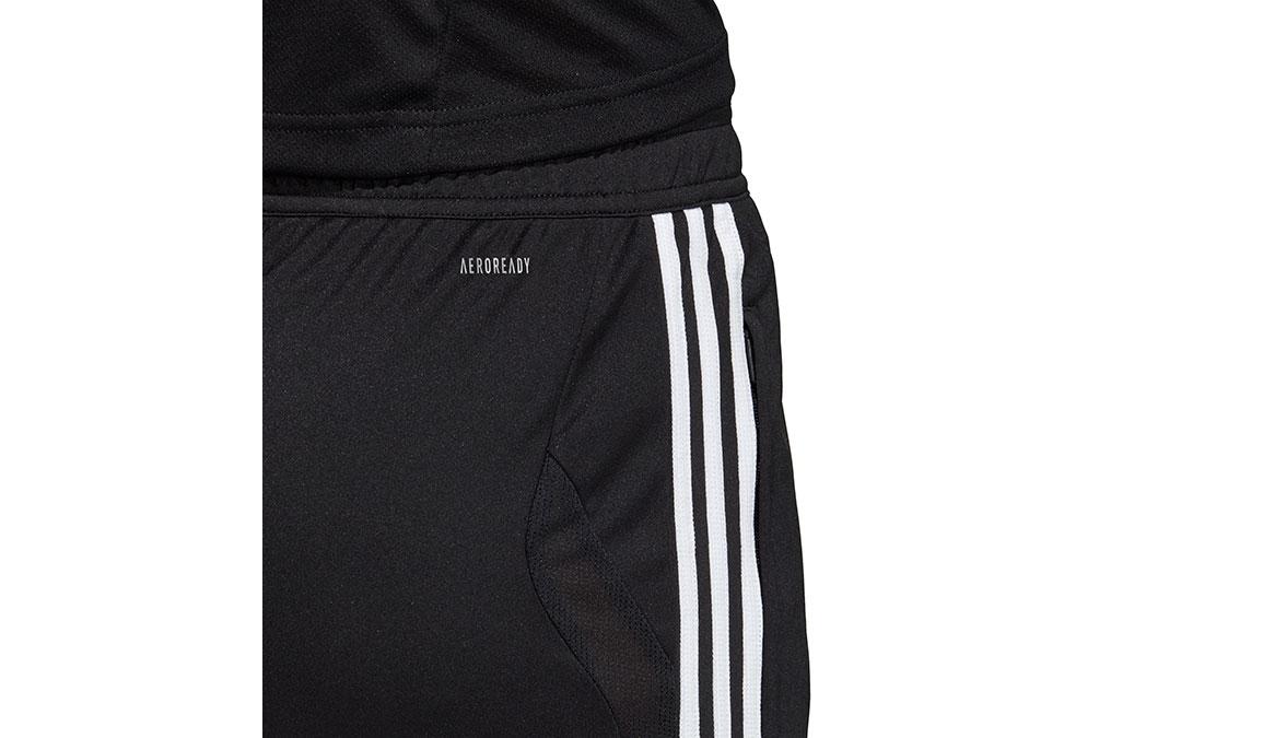 Women's Adidas Tiro 19 3/4 Pants - Color: Black/White Size: XXS, Black/White, large, image 4