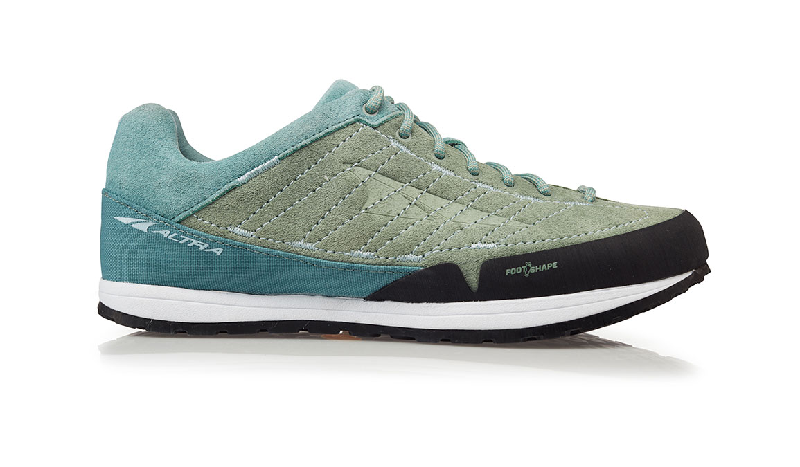 Women's Altra Grafton Trail Running Shoe - Color: Green/Teal (Regular Width) - Size: 6, Green/Teal, large, image 1