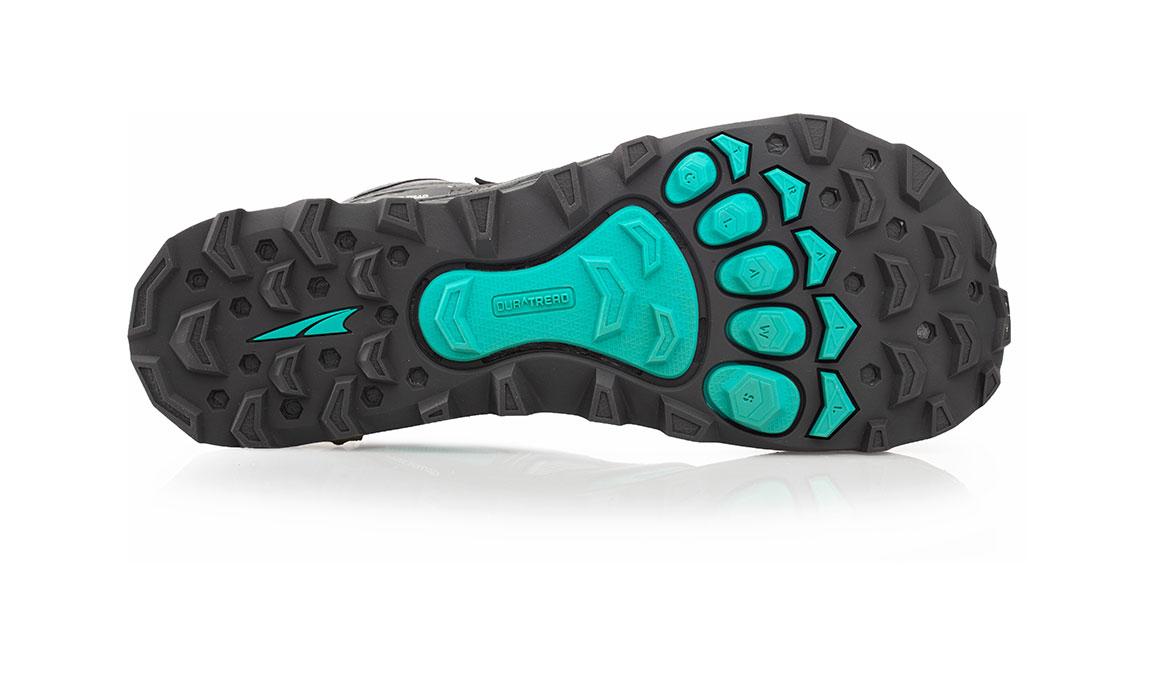 Women's Altra Lone Peak 4 Mid Mesh Trail Running Shoe - Color: Teal/Grey (Regular Width) - Size: 6.5, Teal, large, image 4