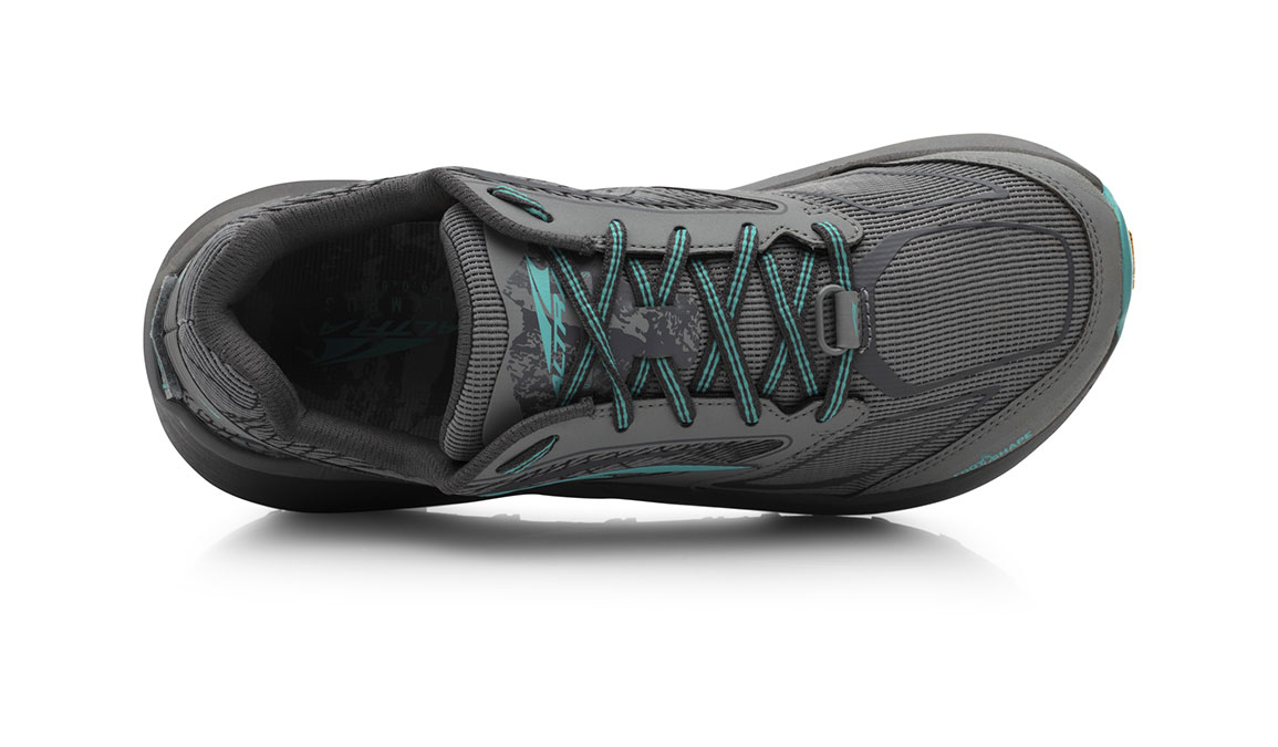 Women's Altra Olympus 3.0 Trail Running Shoe - Color: Grey/Teal (Regular Width) - Size: 11, Grey, large, image 3