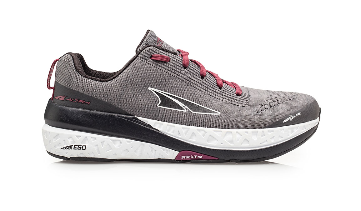 Women's Altra Paradigm 4.5 Running Shoe - Color: Grey (Regular Width) - Size: 6.5, Grey, large, image 1