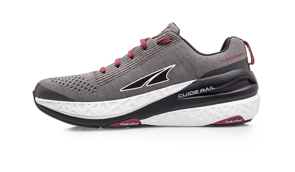 Women's Altra Paradigm 4.5 Running Shoe - Color: Grey (Regular Width) - Size: 6.5, Grey, large, image 2