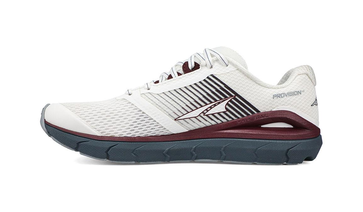Women's Altra Provision 4 Running Shoe - Color: White/Burgundy (Regular Width) - Size: 5.5, White/Burgundy, large, image 4