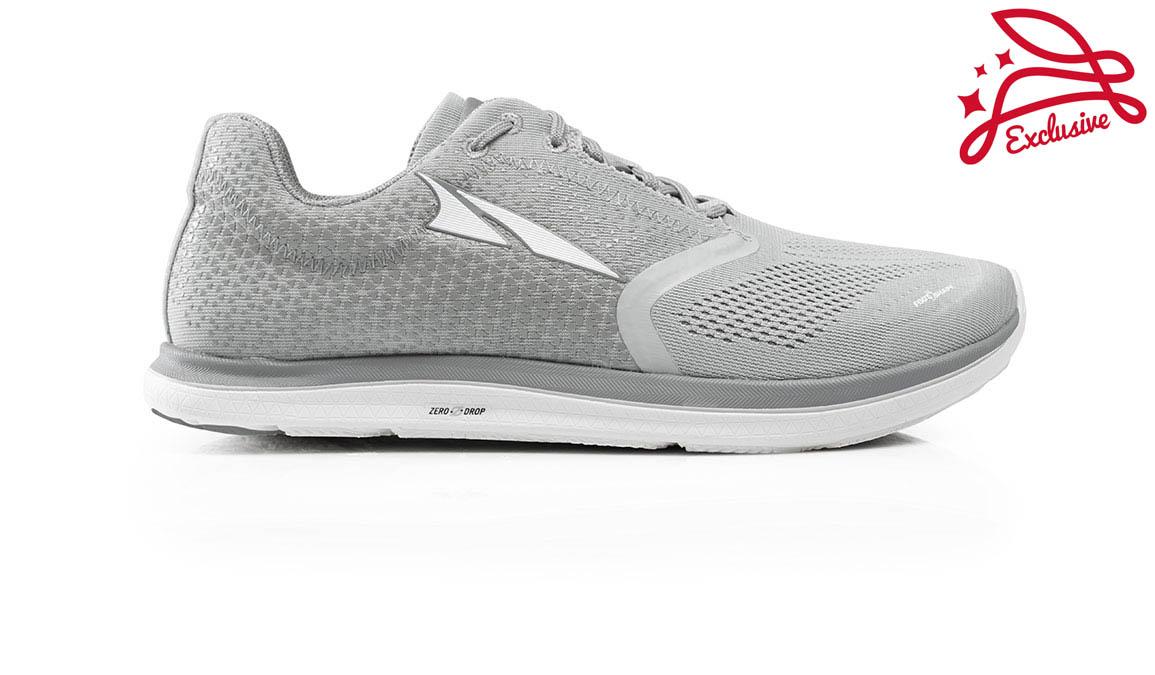 Women's Altra Solstice Running Shoe - Color: Grey/Grey (Regular Width) - Size: 10.5, Grey/Grey, large, image 1