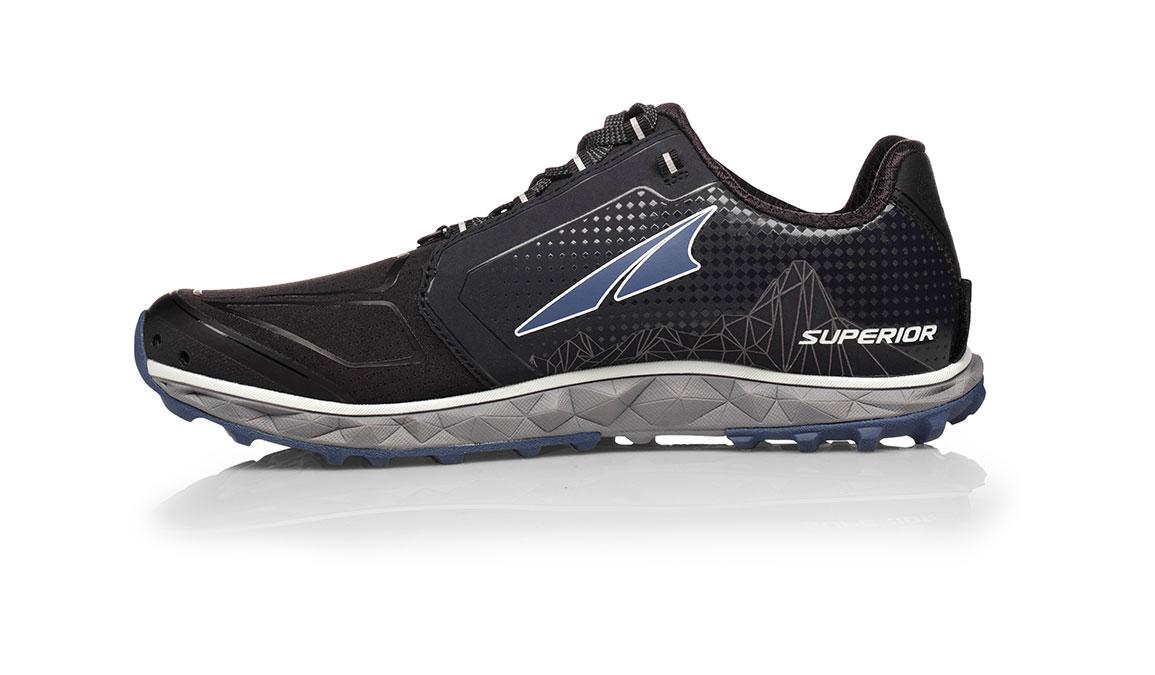 Women's Altra Superior 4.0 Trail Running Shoe - Color: Black/Purple (Regular Width) - Size: 9.5, Black/Purple, large, image 2