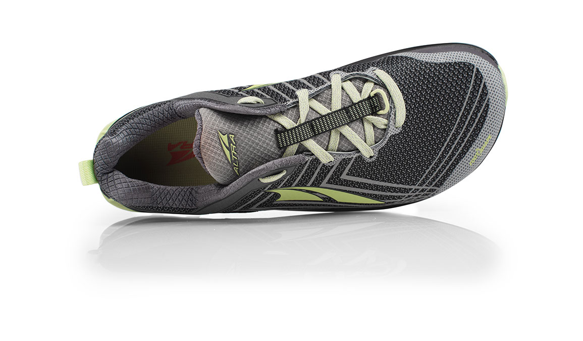 Women's Altra Timp 1.5 Trail Running Shoe - Color: Grey/Lime (Regular Width) - Size: 10.5, Grey/Lime, large, image 3