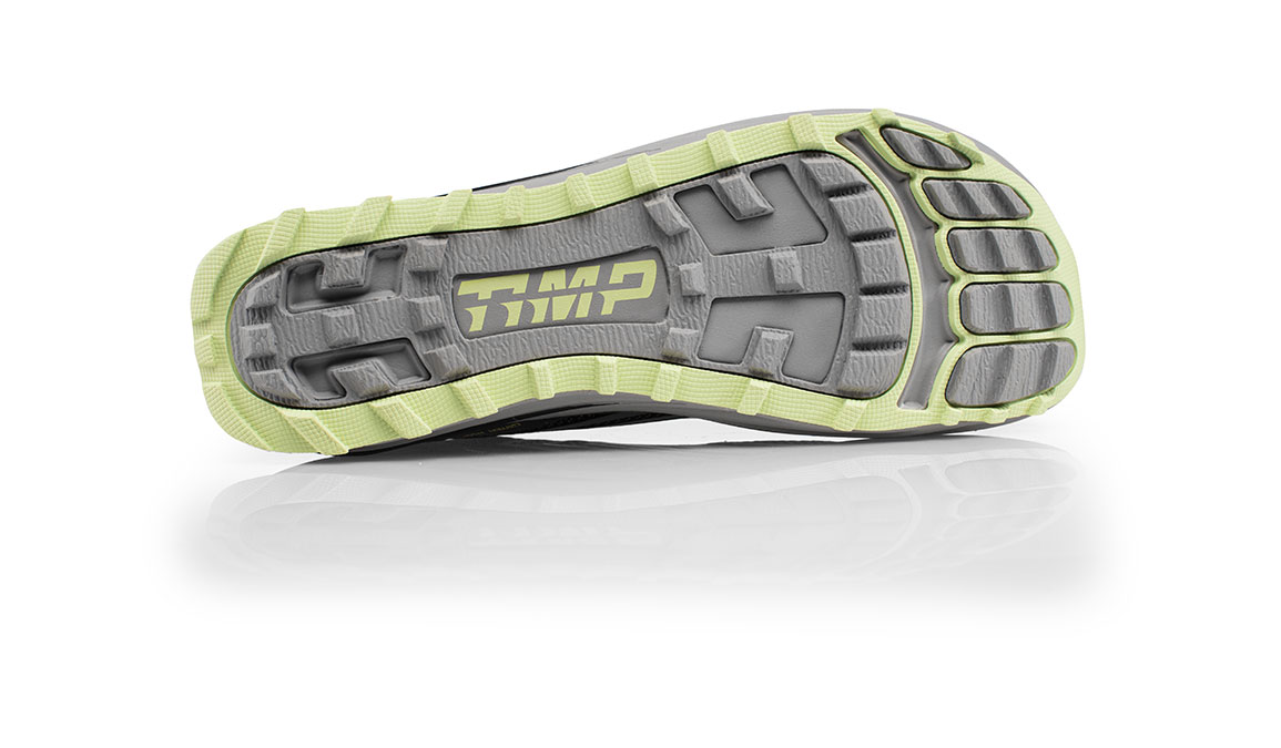Women's Altra Timp 1.5 Trail Running Shoe - Color: Grey/Lime (Regular Width) - Size: 10.5, Grey/Lime, large, image 4
