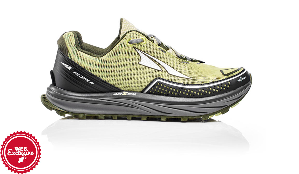 Women's Altra Timp Trail Running Shoe - Color: Lime (Regular Width) - Size: 11, Lime, large, image 1