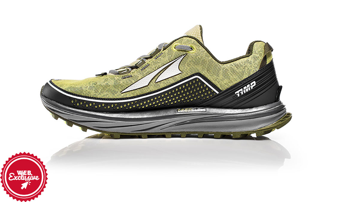 Women's Altra Timp Trail Running Shoe - Color: Lime (Regular Width) - Size: 11, Lime, large, image 2