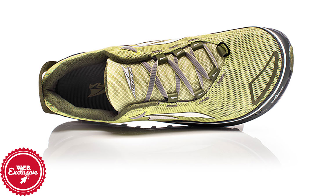 Women's Altra Timp Trail Running Shoe - Color: Lime (Regular Width) - Size: 11, Lime, large, image 3