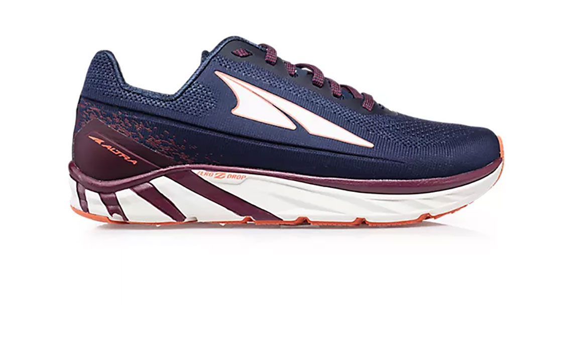 Women's Altra Torin 4 Plush Running Shoe - Color: Navy/Plum (Regular Width) - Size: 6.5, Navy/Purple, large, image 1