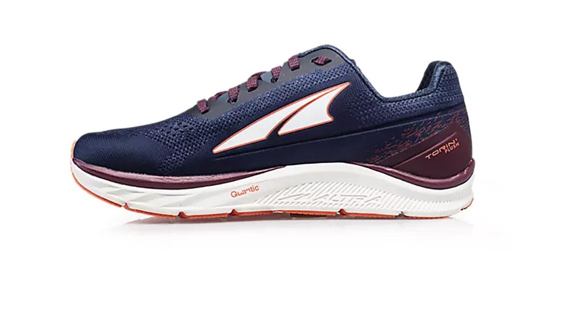 Women's Altra Torin 4 Plush Running Shoe - Color: Navy/Plum (Regular Width) - Size: 6.5, Navy/Purple, large, image 2